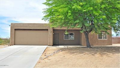 Pima County Single Family Home Active Contingent: 9289 N Whipsnake Way