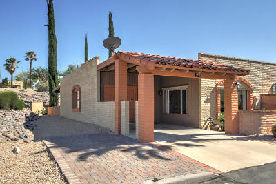 Pima County Townhouse For Sale: 1433 W Calle Altamira
