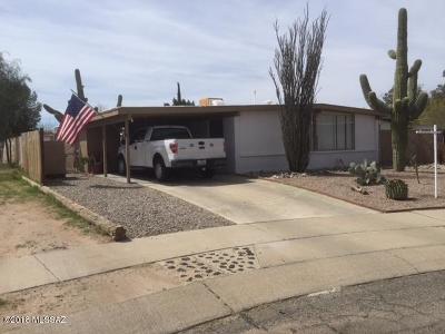 Tucson Single Family Home For Sale: 6972 E Vernice Street