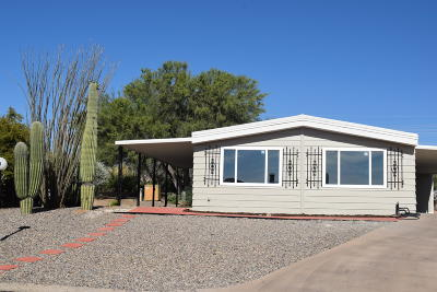 Pima County Manufactured Home For Sale: 1841 N Pacana Way
