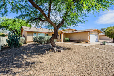 Tucson Single Family Home Active Contingent: 6090 S Bufkin Drive