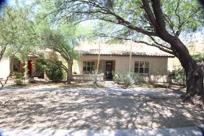 Tucson Single Family Home Active Contingent: 5316 S Morning Sky Lane