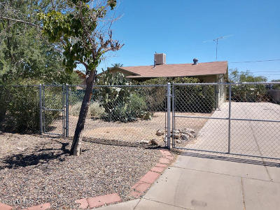 Tucson Single Family Home Active Contingent: 3258 E 23rd Street