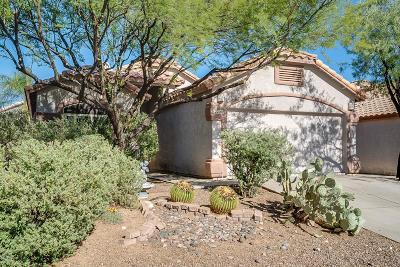 Oro Valley Single Family Home Active Contingent: 12206 N Kylene Canyon Drive