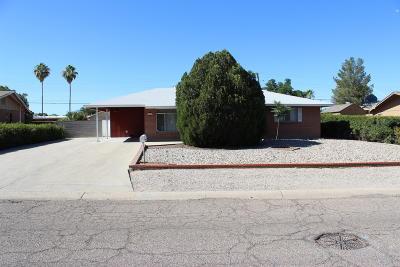 Tucson Single Family Home For Sale: 6350 E Calle Bellatrix