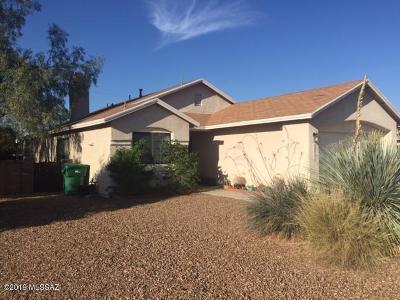 Pima County Single Family Home Active Contingent: 3123 W Avior Drive