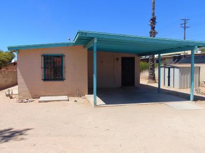 Tucson Single Family Home For Sale: 210 W Adams Street