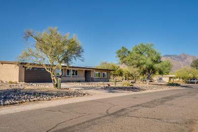 Tucson Single Family Home Active Contingent: 1602 W Avenida De Maximillian