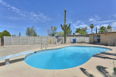 Tucson Single Family Home Active Contingent: 9412 E Deer Trail Place