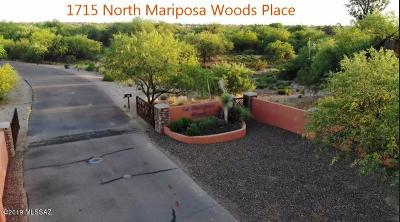 Tucson Residential Lots & Land For Sale: 1715 N Mariposa Woods Place N