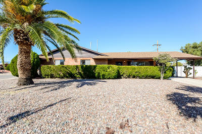 Tucson Single Family Home For Sale: 1815 S Camino Seco