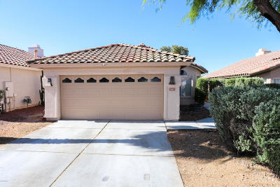 Pima County Single Family Home For Sale: 2663 W Catalina View Drive