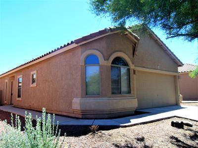 Pima County Single Family Home Active Contingent: 348 E Camino Del Pinsapo