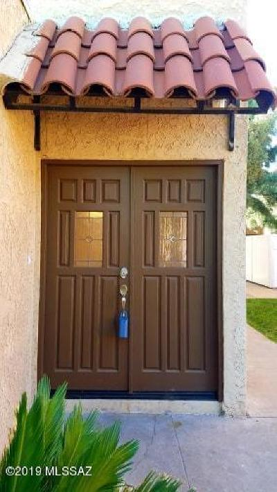 Pima County Townhouse For Sale: 6609 Calle La Paz #Unit C