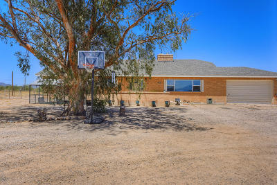 Marana Single Family Home For Sale: 15430 W Manville Road