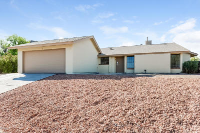 Tucson Single Family Home For Sale: 2622 W Barbary Drive