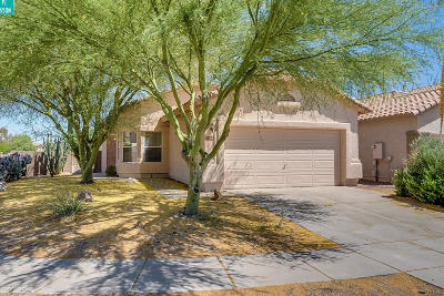 Marana Single Family Home Active Contingent: 7466 W Dream Maker Place