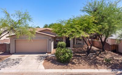 Tucson Single Family Home Active Contingent: 10020 E Lucille Drive