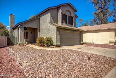 Pima County Single Family Home Active Contingent: 4330 W Bunk House Road