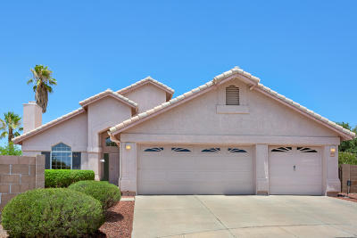 Tucson Single Family Home For Sale: 8869 N Dusk Glow Court