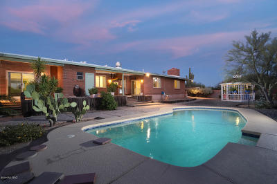 Tucson Single Family Home For Sale: 1261 W Panorama Road