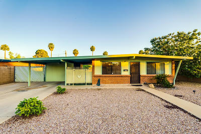 Pima County Single Family Home Active Contingent: 1291 W McMillan Street
