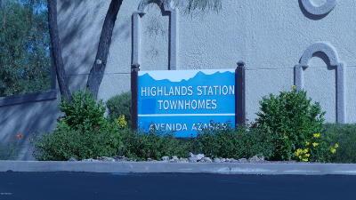 Tucson Townhouse Active Contingent: 2733 W Avenida Azahar