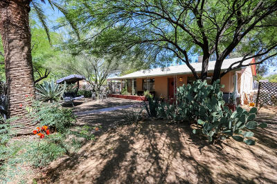 Tucson Single Family Home Active Contingent: 2201 E Silver Street