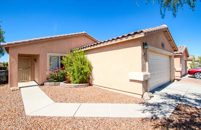 Tucson Single Family Home Active Contingent: 2194 W Burlwood Way