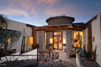Oro Valley Single Family Home Active Contingent: 9800 N La Reserve Drive