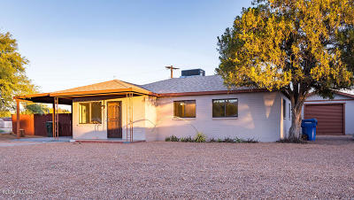 Tucson Single Family Home Active Contingent: 5650 E Waverly Street