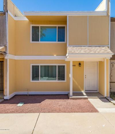Pima County Townhouse For Sale: 5848 S Del Moral Boulevard