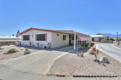 Pima County Manufactured Home Active Contingent: 85 W Cedro Drive