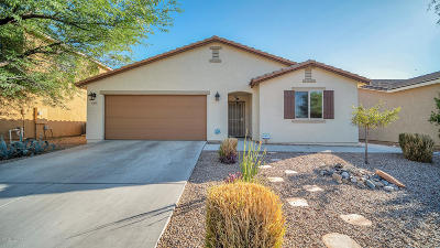 Pima County Single Family Home Active Contingent: 8969 N Country Home Lane
