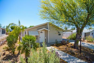 Pima County Manufactured Home For Sale: 3295 S White Gold Avenue