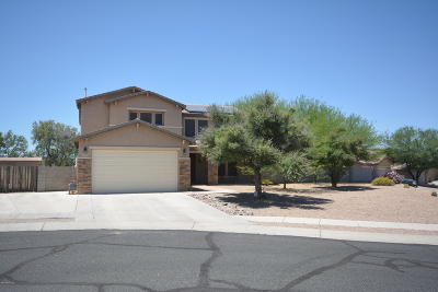 Tucson Single Family Home Active Contingent: 5487 W Copperhead Drive