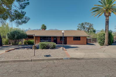 Tucson Single Family Home Active Contingent: 5507 E South Wilshire Drive