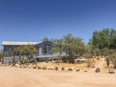 Pima County Manufactured Home For Sale: 13210 W Trail Dust Road