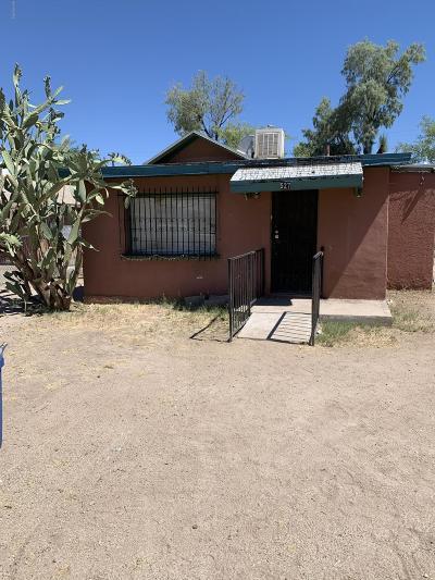 Tucson Single Family Home For Sale: 527 E Lester Street