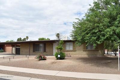 Tucson Single Family Home For Sale: 3002 S Edward Avenue
