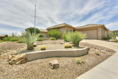 Green Valley Single Family Home Active Contingent: 1727 W Placita Canoa Verde