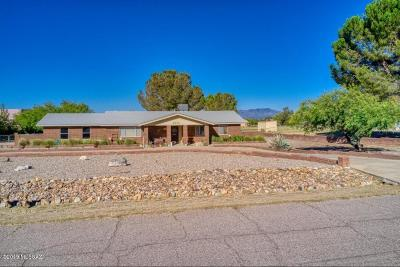 Sierra Vista Single Family Home Active Contingent: 4835 S Apache Avenue