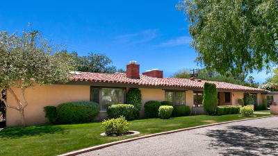 Tucson Single Family Home For Sale: 6126 E Miramar Drive