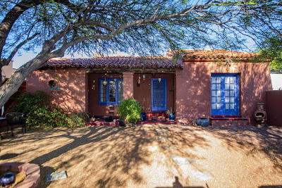 Tucson Single Family Home For Sale: 1136 N Norton Avenue