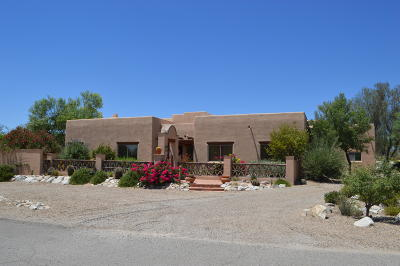 Tucson Single Family Home For Sale: 1412 W Tarantula Ranch Place