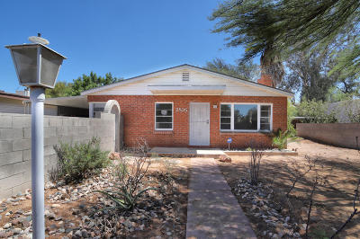 Tucson Single Family Home For Sale: 2826 E Elm Street