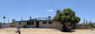 Tucson Single Family Home For Sale: 3742 S Carson Avenue