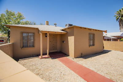 Tucson Single Family Home For Sale: 1714 E Grant Road