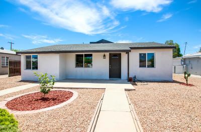 Tucson Single Family Home For Sale: 4602 E Holmes Street