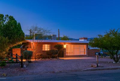 Tucson AZ Single Family Home For Sale: $163,000